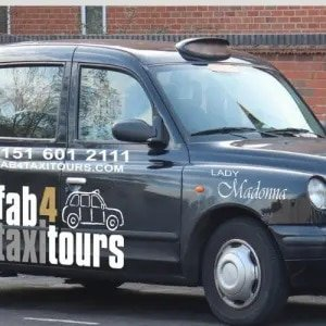 Liverpool Sightseeing Taxi
