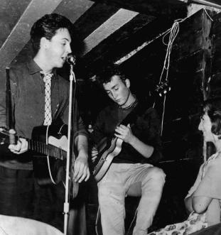 McCartney & Lennon Playing at the Casbah_Club