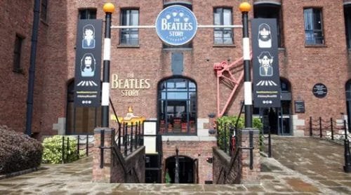 Outside The Beatles Story Liverpool