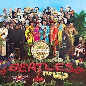 Sgt. Pepper's Lonely Hearts Club Album Cover