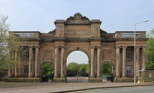 The Grand Entrance - Birkenhead Park
