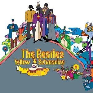 Yellow Submarine album cover